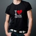 Tee shirt i love Haute-Savoie ou Savoie