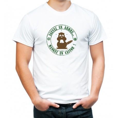 tee-shirt sauvez un arbre