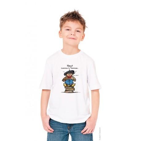 Tee shirt enfant savoie - Haut comme 3 tommes