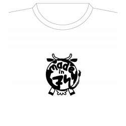 "Tee shirt Made in 74 ""Cul de Vache"""