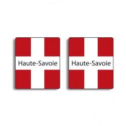 Stickers croix de Savoie 73 ou 74