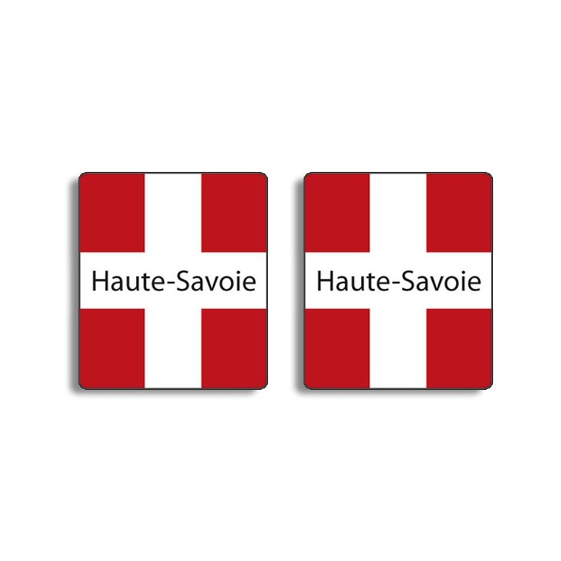 autocollant savoie ou haute savoie plaque immatriculation. Black Bedroom Furniture Sets. Home Design Ideas