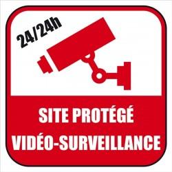 Site sous contrôle vidéo