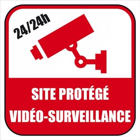 Panneau ou sticker contrôle vidéo