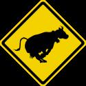 Panneau australien vache