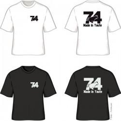 Tee shirt Made in Yaute 74