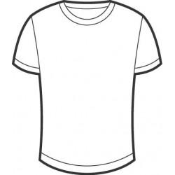 Tee-shirt blanc à personnaliser