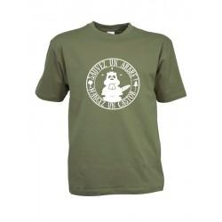 tee-shirt sauvez un arbre, mangez un castor