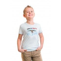 "Tee shirt enfant ""Born in Yaute"""