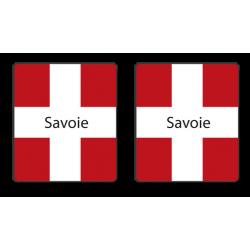 Stickers croix de Savoies