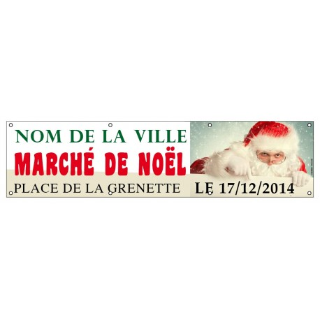 Banderole Marché de Noël