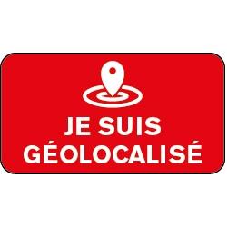 Sticker je suis Géolocalisé