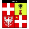 Autocollant Provinces de Savoie