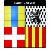 Autocollant Provinces de Haute Savoie