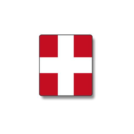 Panneau croix de Savoie